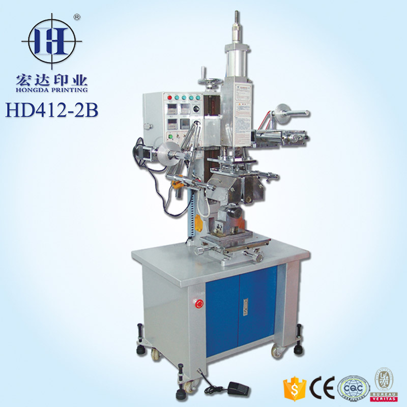 Roll to roll heat transfer printing machine for cylindrical product