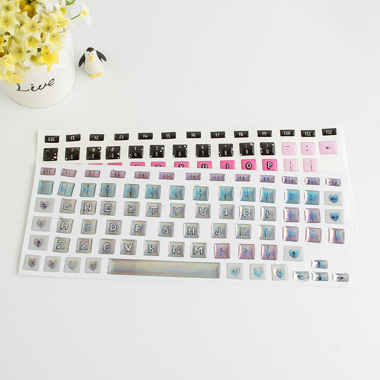 image about Printable Keyboard Stickers known as Tailor made Style Keyboard Ornamental Puffy Sticker,Printable Printing Laptop or computer Keyboard Skins Sticker - Acquire Keyboard Sticker,Computer system Keyboard Skins