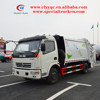DFAC small rear loader garbage truck for sale
