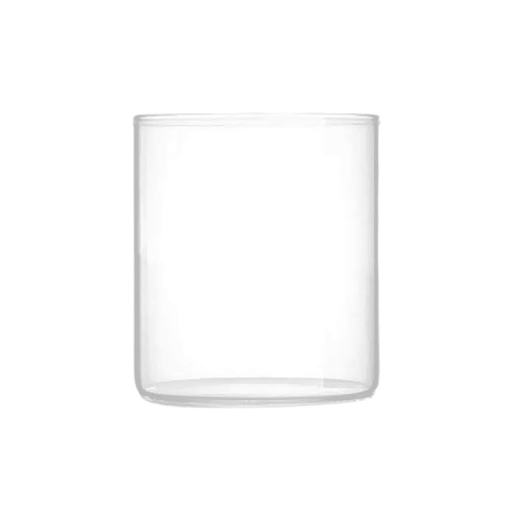 MagiDeal 320ml Yogurt Milk Glass Pudding Cup Salad Serving Cup Tea Juice Drink Mug