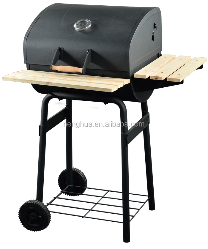 High Quality Charcoal Heavy Duty Barrel BBQ Smoker BBQ Grill/Train grill