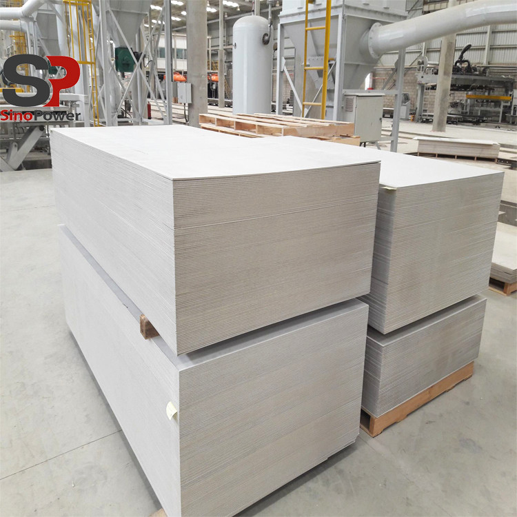 Fiber Cement Board Sandwich Paneel Productielijn/Fiber Cement Dakplaat Maken Machine