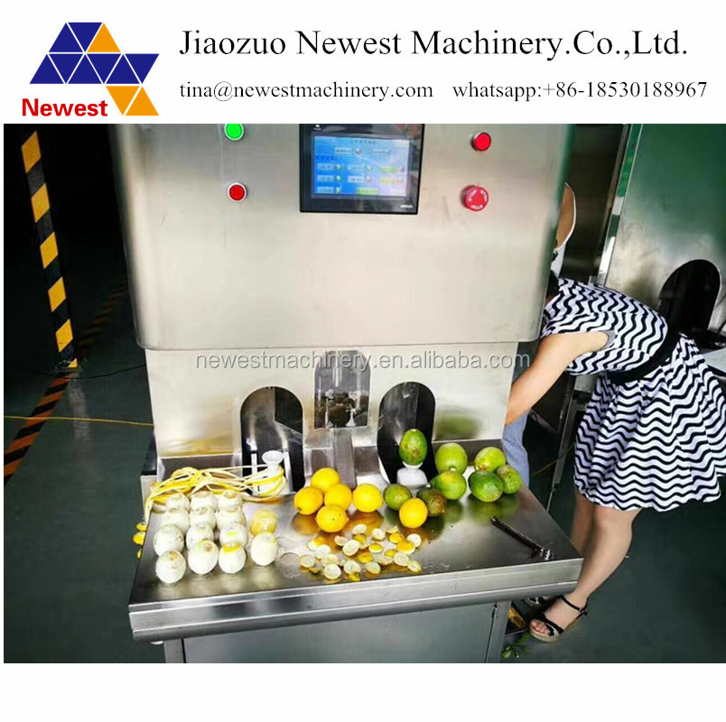 2017 fruit peeling processing machine ,lemon/kiwi fruit peeling /peeler machine