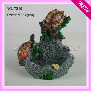 Guangzhou Factory Wholesale Beautiful Resin Turtles Ornaments ...