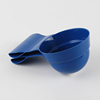 Silicone Collapsible Measuring Spoon Dog Cat Pet Food Scoop