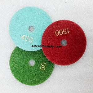 Granite Marble Stone Concrete Floor Diamond Dry Polishing Pads