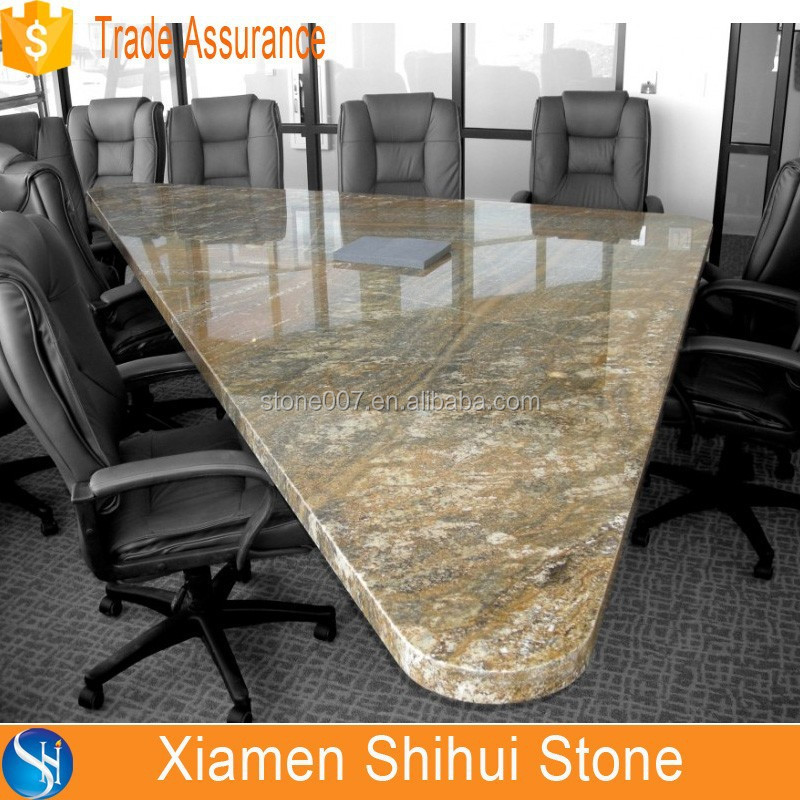 granite and marble top conference table