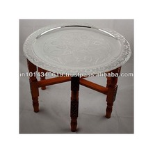 Moroccan Brass Table, Moroccan Brass Table Suppliers And Manufacturers At  Alibaba.com