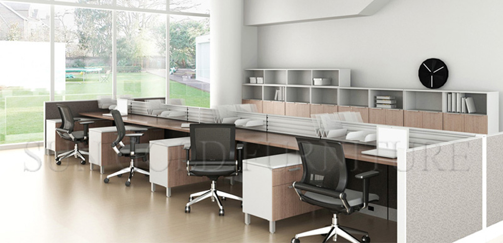 Design layout open modern office workstation in different - Signe different open office ...