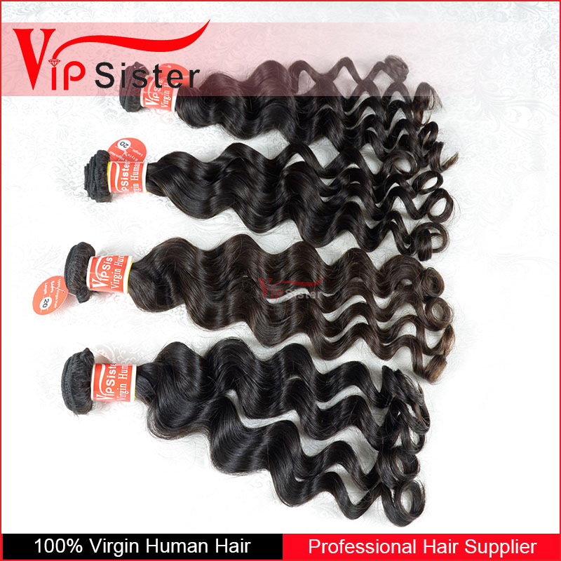 wholesale price natural color loose wavy virgin malaysian hair vendors