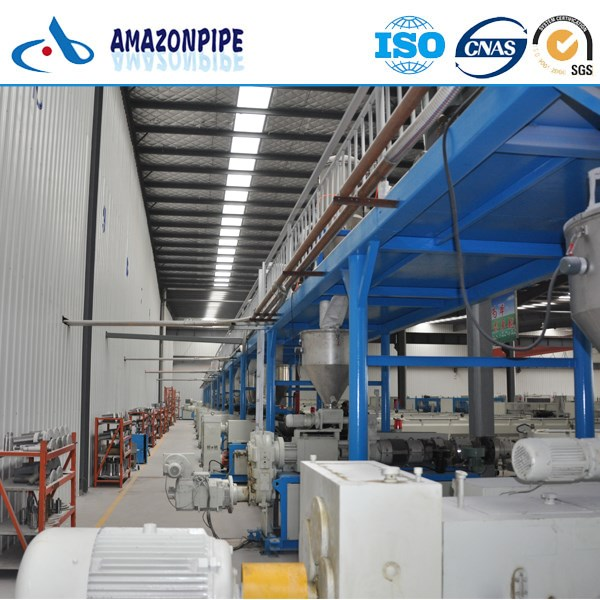 ISO4422 BELL END WITH RUBBERING PVC-U pipe