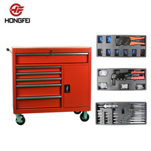 Ball bearing slides used auto shop metal tool cabinet workshop