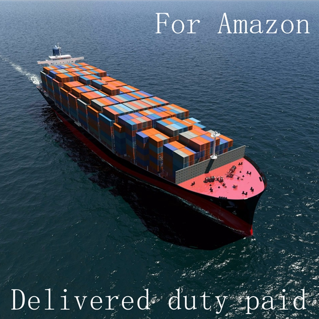 Sea Versand Von China nach USA Amazon Lager Deliveried Duty Bezahlt durch LCL/FCL -- Skype: fastzhy