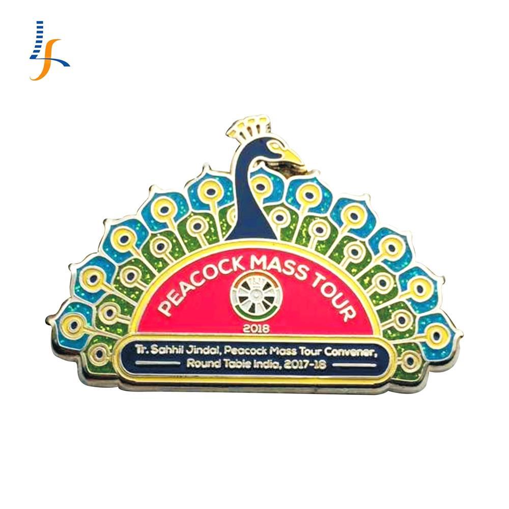 Free Design Customizable Glitter Enamel Lapel Pin Badge Manufacturer - Buy  Glitter Lapel Pin,Custom Enamel Pins,Badge Manufacturer Product on
