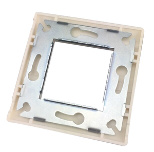 LY-FP53-B+FP122+KJ6A-16 Wall Mount Plate RJ45 Data Cabling Keystone Jack Faceplates Cat5e Cat6A Face Plate Golden Color