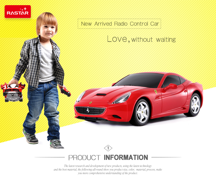 Ferrari origin model Rastar wholesale plastic children electronic toy car