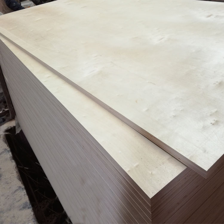 3mm laminated birch plywood