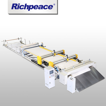 Richpeace Computerized Double heads Automatic Quilting Machine (Continuous Feeding)