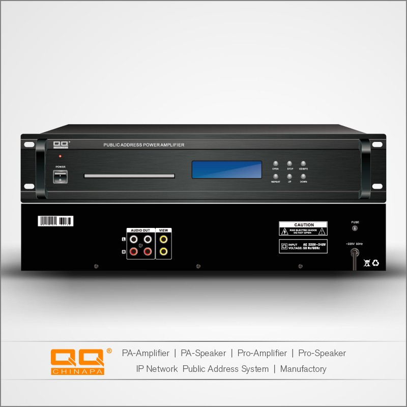 Professional High Quality PA System CD/MP3 Player With USB