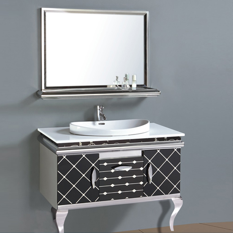 ready made bathroom vanity assembled free standing furniture cabinets india strong quality popular cabinet