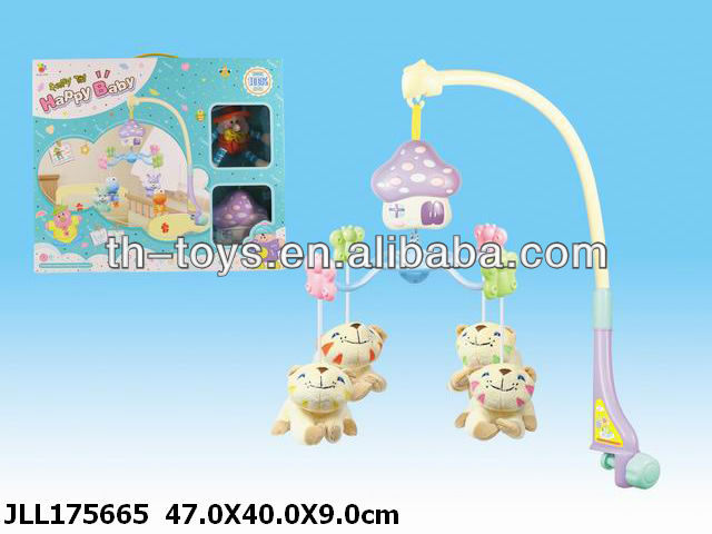 lovely cartoon plastic infant toy 2012 year new infant toys.baby rattle baby toys