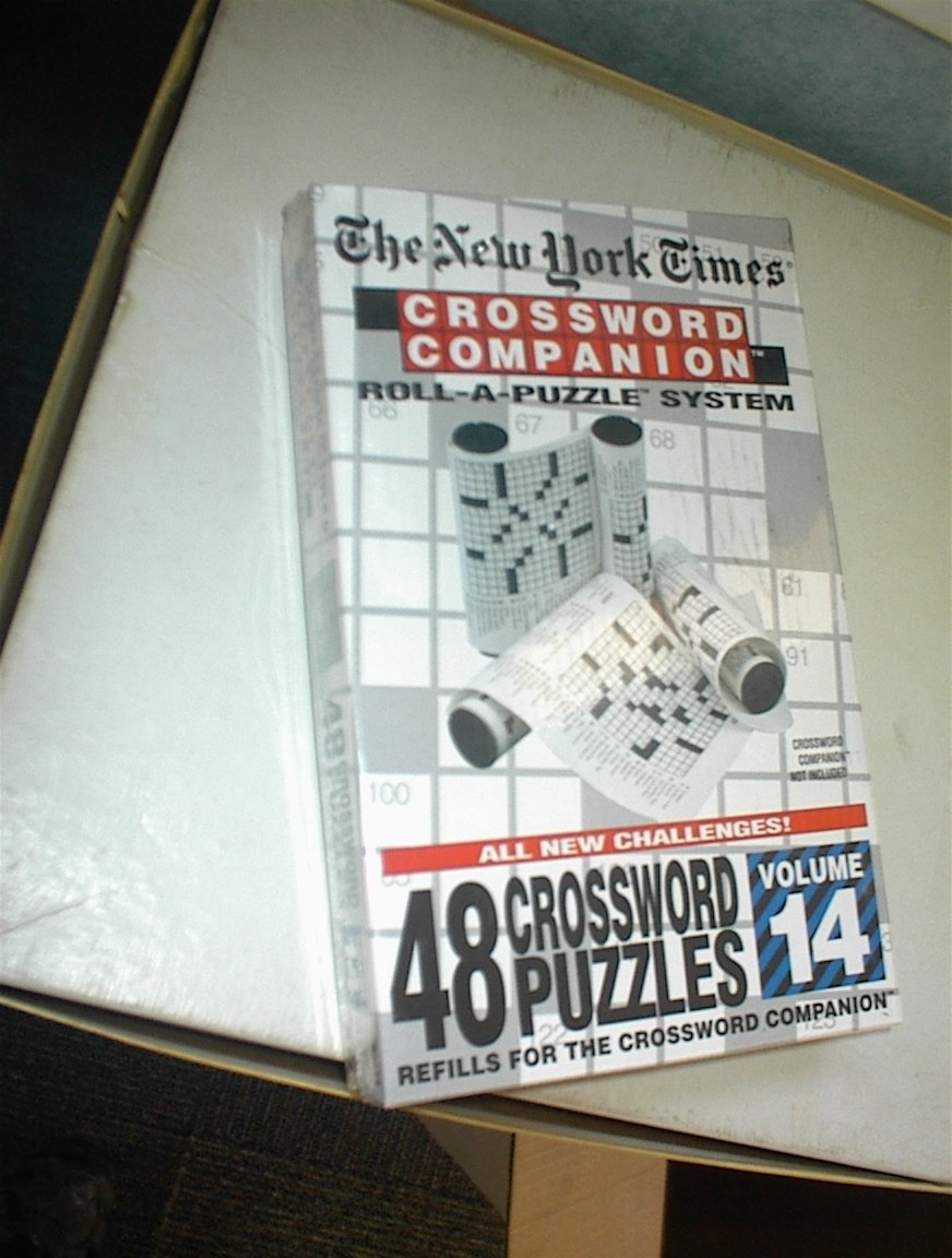 The New York Times: Crossword Companion Roll-A-Puzzle Refills Volume 14