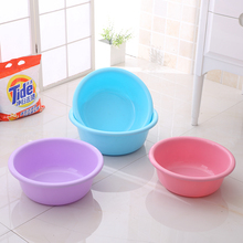 Plastic Bathroom Wash Basin for Foot Face Laundry Household Plastic Basin