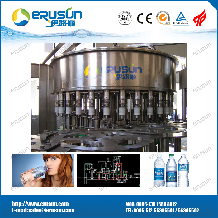 7000BPH Bottle Mineral Water Filling Machine