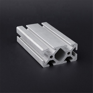 FP-3768 Hot sale 30x60 industrial 6063-t5 anodized structural t slot aluminum extrusion profiles