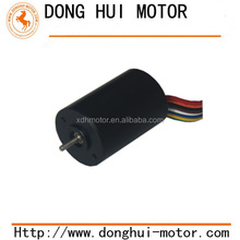 22mm brush slotless dc motor for aircraft model, helicopter, quadcopter