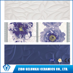 30*60 25*75 Size For Living room Bathroom Kitchen and Tolilet Ceramics Wall Tiles From China ZIBO in Low price