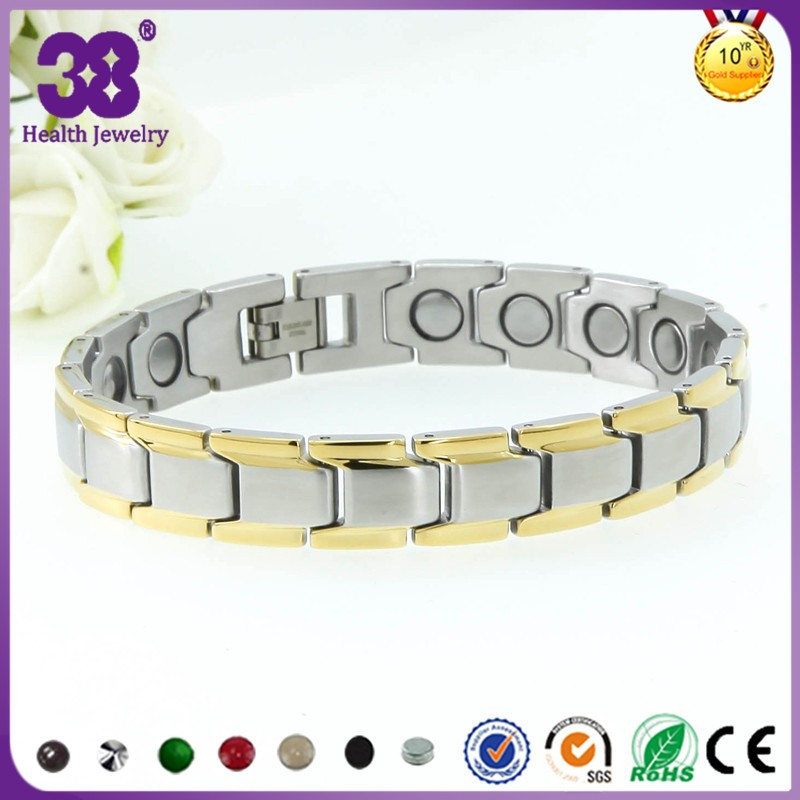 2016 Hot sale in europe france full magnetic bracelet good for health