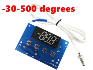 XH-W1313 K thermocouple type high temperature thermostat -30-500 degree temperature control switch