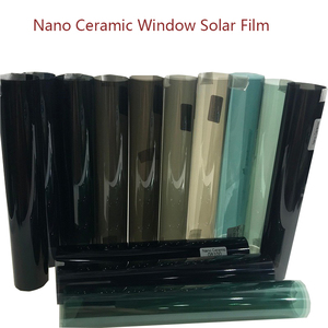 Car Window Sticker Nano Ceramic Solar Tint Film Blue Color