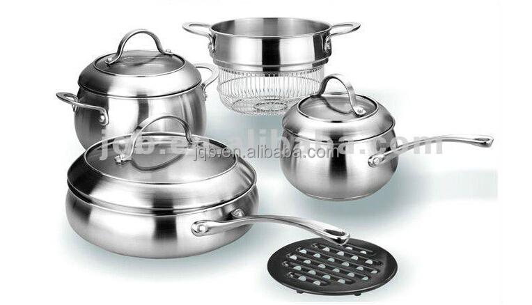 10 unids juego de utensilios de acero inoxidable for Juego utensilios cocina