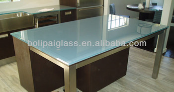 Back Painted Glass Tabletop, Glass Tabletop