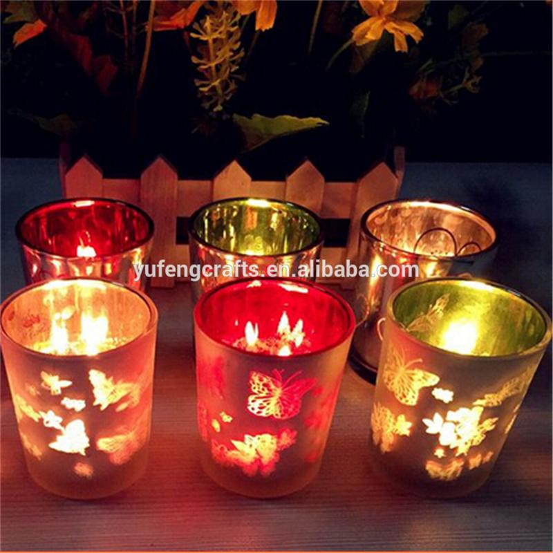 glass candle shade