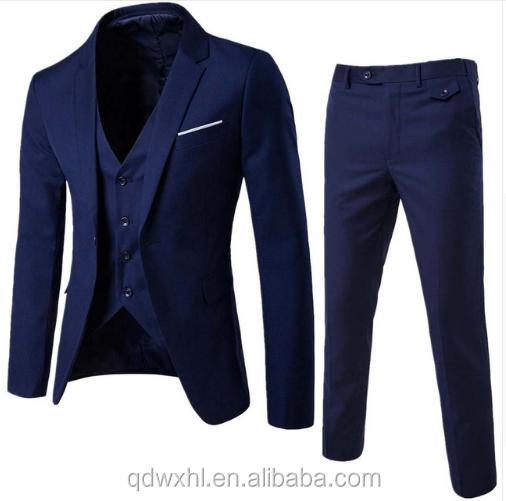 6fe70b7c1d Homens de luxo Casamento Terno Masculino Blazers Slim Fit Ternos Para Homens  Traje Negócios Formal Partido