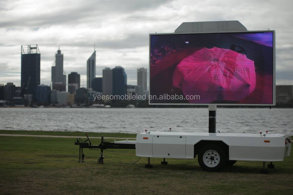 2014 New Concept Outdoor Mobile Led Display Advertising Vehicle ...