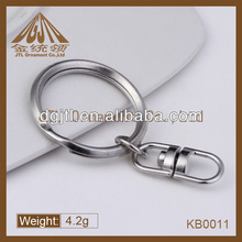 Fashion high quality aperture key ring parts