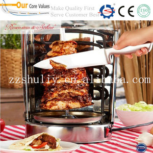Electric meat roaster machine