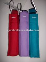 pocket size small 5 folding umbrella with a polyester bag
