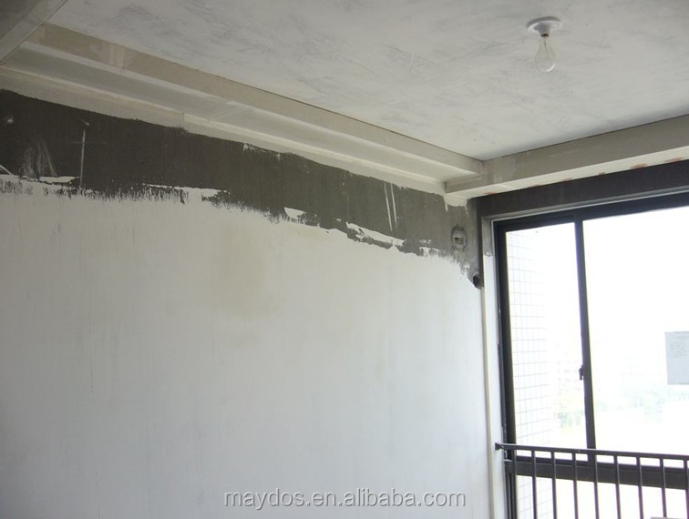 Wall Putty Colour Design : Plaster wall putty white cement for concrete flatness