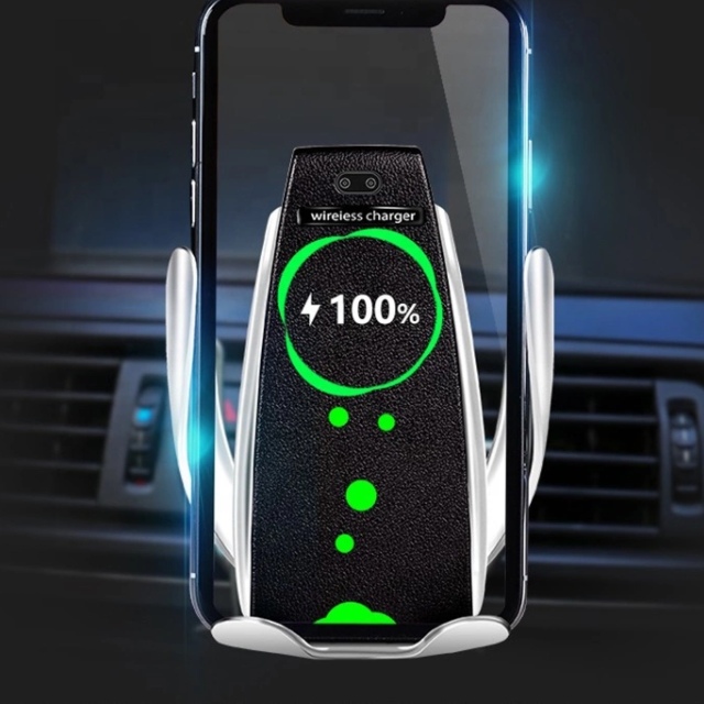 special price 2019 Newest Infrared Smart Sensor design Fast Charging Wireless Car Charger car air vent charger