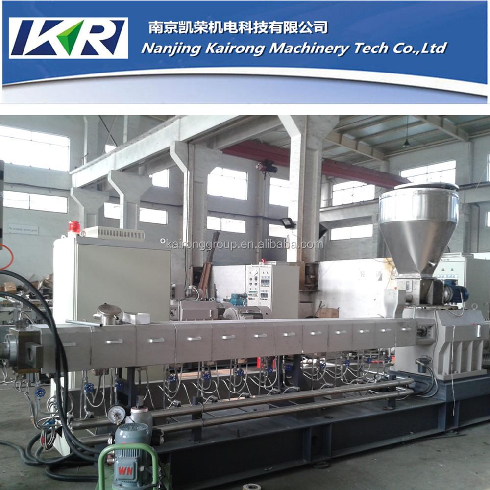 Tse 50 eva compounding filler masterbatch di plastica for Impianto produzione pellet usato