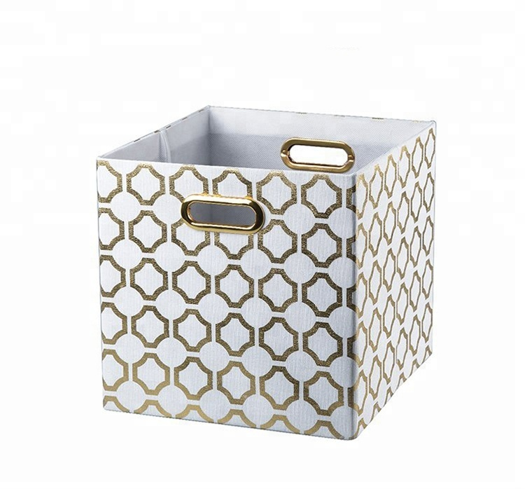 Wholesales Square Home Furnishing Collapsible Non Woven Fabritc Storage Bins Buy Non Woven Storage Bin Fabritc Storage Bin Collapsible Storage Bins Product On Alibaba Com