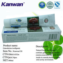 Chinese natural herb ganoderma toothpaste