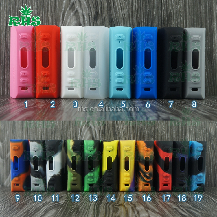 Original HCigar vt 75 silicone protective case for tc mod hcigar vt75 nano box mod Wholesale in Stock