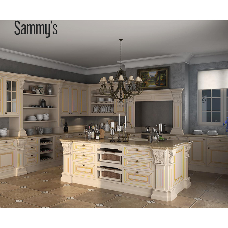 Vietnam Kitchen Cabinets Solid Wood With Plywood Kitchen Cabinet