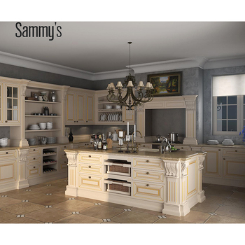 Vietnam Kitchen Cabinets Solid Wood With Plywood Cabinet Carc
